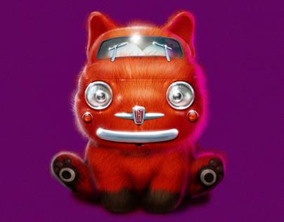 Character: Cat 500