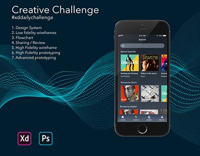 Creative Challenge February - music app