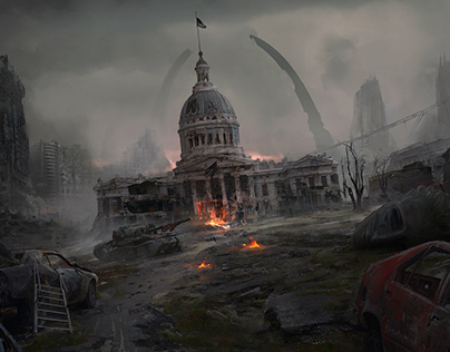 Postapocalyptic St.Louis
