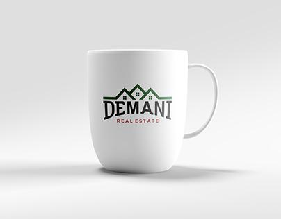 Demani Real Estate Logo Design