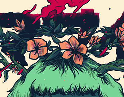 Poster - Flower mind -Personal Project