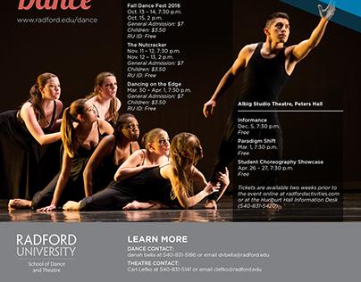 CVPA School of Dance and Theatre Brochure 2016