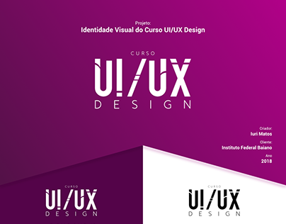 Identidade Visual do Curso UI/UX Design