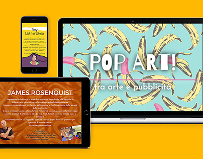 Infografica web - Pop Art!