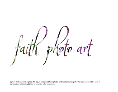 Faith Photo Art workspace