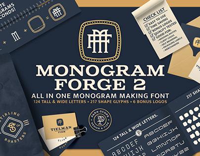 MONOGRAM-FORGE-2 Display Typeface