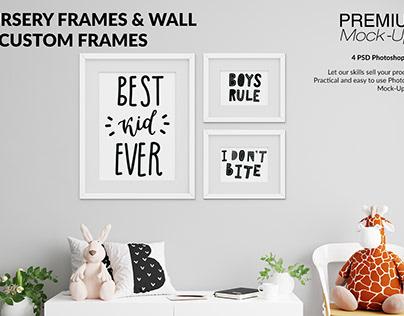 Kids Room - Wall & 90 Frames Pack