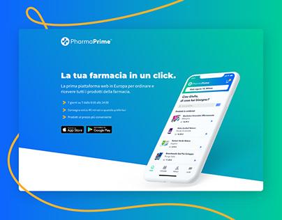 Web Design - PharmaPrime
