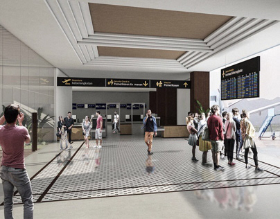 Top 5 Finalist - Airport Design Competition