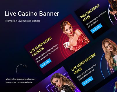 Live Casino Promotion Banner