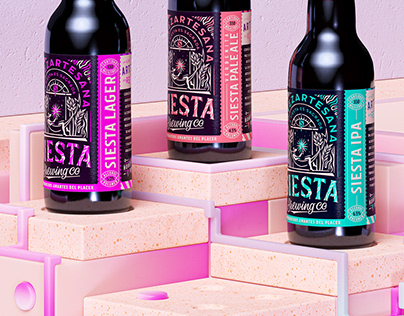 SIESTA BREWING CO • Key Visuals