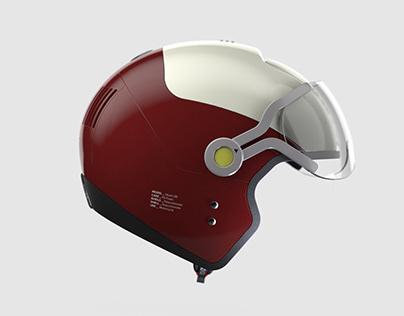 Head Case - A Foldable Motorbike Helmet