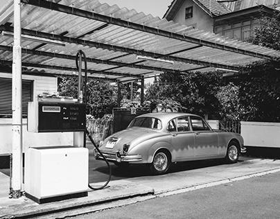 MISC // The Garage - Jaguar MK II
