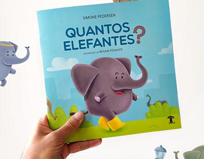 Quantos Elefantes? - Ed. Baobá