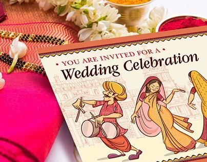 Baraat Wedding Celebration