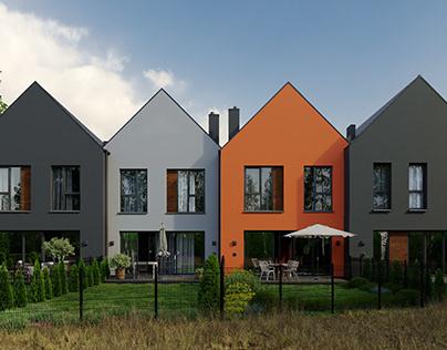 Ostoja Kampinos Housing Estate (full CGI)