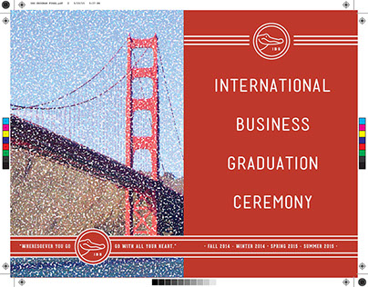 SFSU Int'l Business Grad Program • Print Design