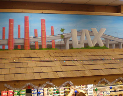 Westchester Landmark Panoramic Mural