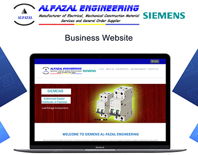 BUSINESS WEBSITE ALFAZAL ENGINEERING