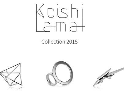 Koishi jewelery brochure