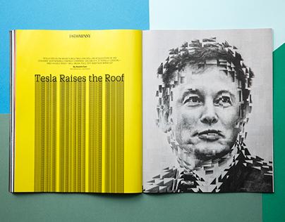 Elon Musk for Fast Company