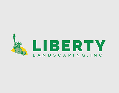 Liberty Landscaping Brand Redesign