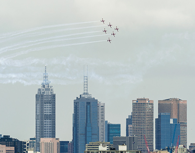 Australia Day - Roulettes Display
