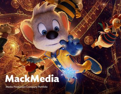 MackMedia - Portfolio for the Media Production Company