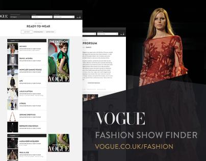 Vogue - Fashion Show Finder