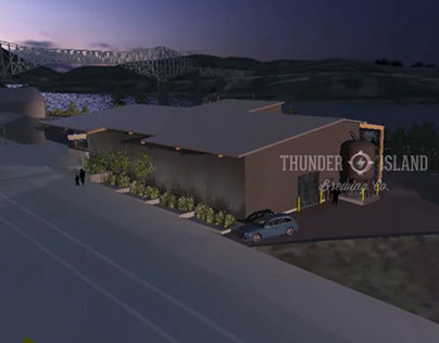 Thunder Island Brewery - Relocation Design