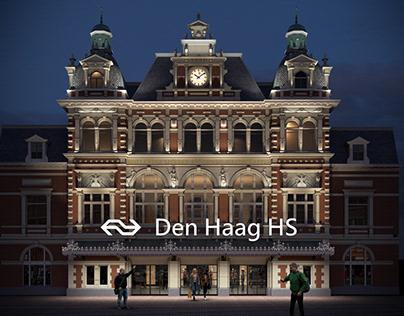 3d viz of concept Lighting Design The Hague HS - NUV