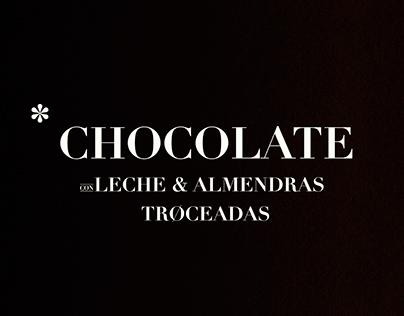 Chocolate pack Oxfam Intermón.