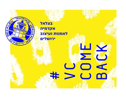 #VCCOMEBACK - Social Event Branding (Entrepreneurship)