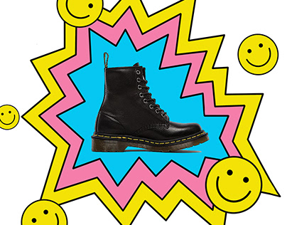 Dr Martens Collaboration with Mat Voyce (Mock Up)