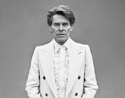 Willem Dafoe by Dusan Reljin (ICON Magazine)