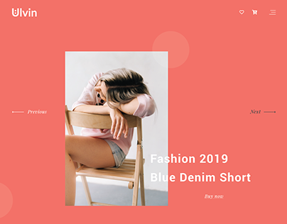 UI UX Web Design 2019 Trend Pantone Living Coral Color