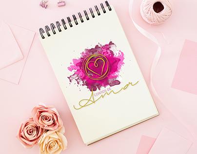 """Blog Logotype """"Contos de Amor"""""""