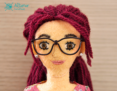 Catalina. Handmade Custom Doll