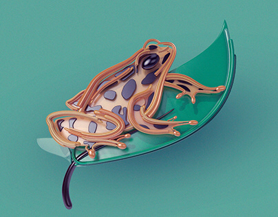 3D Illustrations Colombia's biodiversity