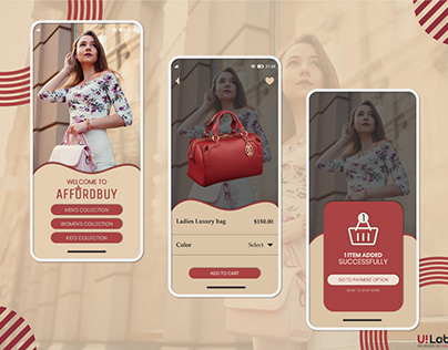 Online Shopping Mobile UI