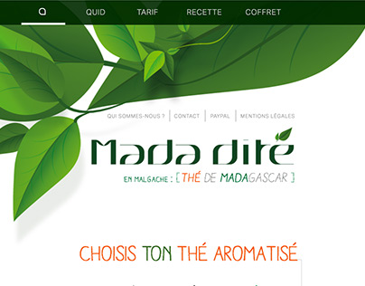 """MADADITE """"thé de Mada(gascar) en Malgasche"""""""