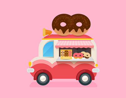 Donuts truck