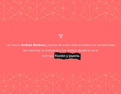 Andrea Barbour, joyería de autor