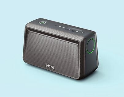 iHome: Portable Bluetooth Speaker