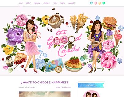 The Goood Carbs Blog Design