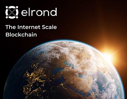 Elrond Blockchain Key Visual