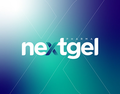 nextgel pharma - visual identity design