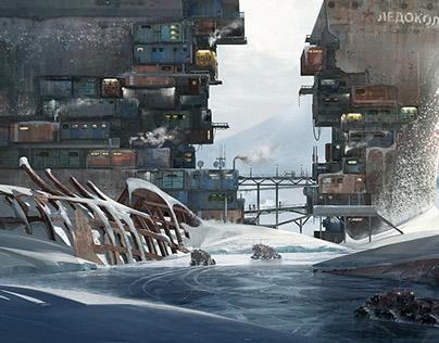 The ship city