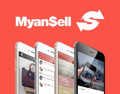 Myan$ell // Mobile UI Concept