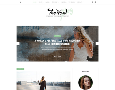 Bloging HTML Template